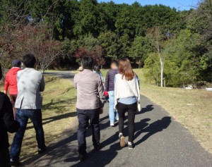 グリーンパークをお散歩mm